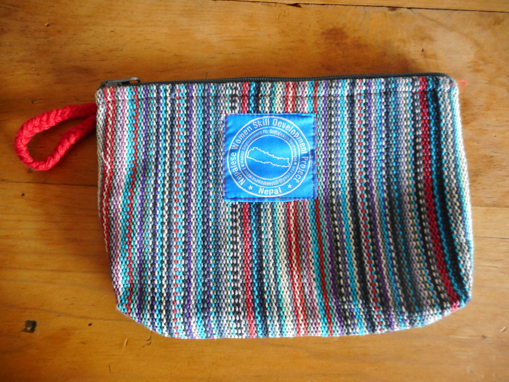 Cotton Bag (Colorful with Black/Red Handle)